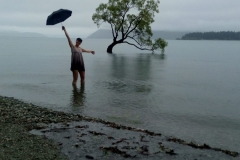 The Wanaka Tree - počasí nám přeci nezkazí náladu