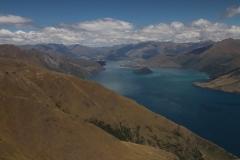 Track na Isthmus peak - Wanaka Lake